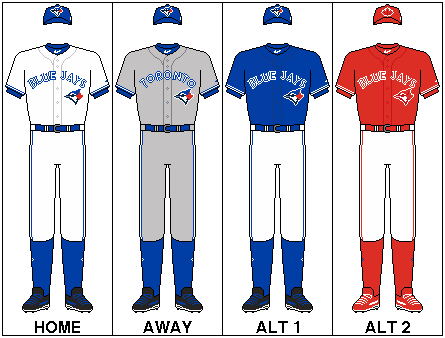 Toronto Blue Jays uniform